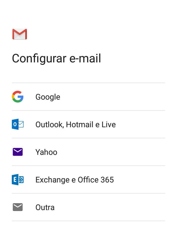 aprenda a adicionar outra conta de email