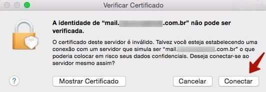 verificar certificado de email no macos