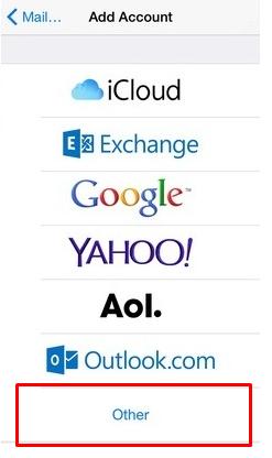 configurar email weblink ios