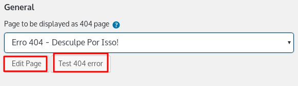 personalizar página de erro 404 no wordpress