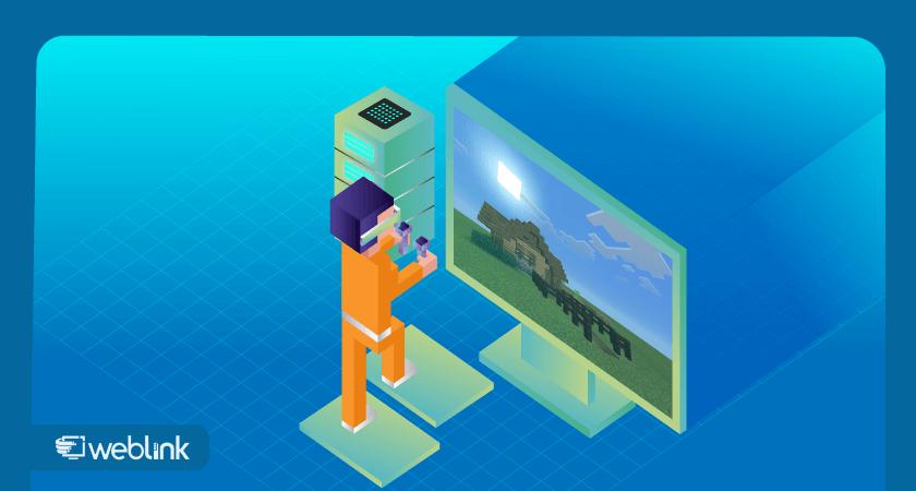 guia para aprender a como criar um servidor de Minecraft