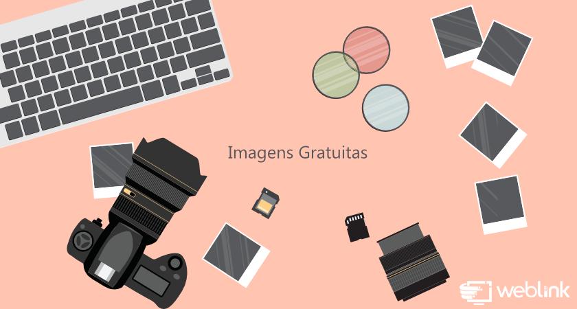 objetos de escritório, câmera fotográfica e teclado sem fio