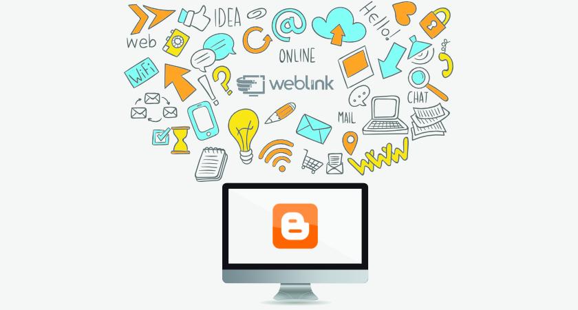 blogger weblink