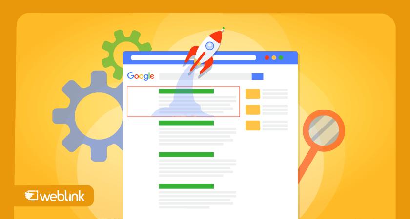 ilustração de conteúdo sobre como melhorar posicionamento no google com um site