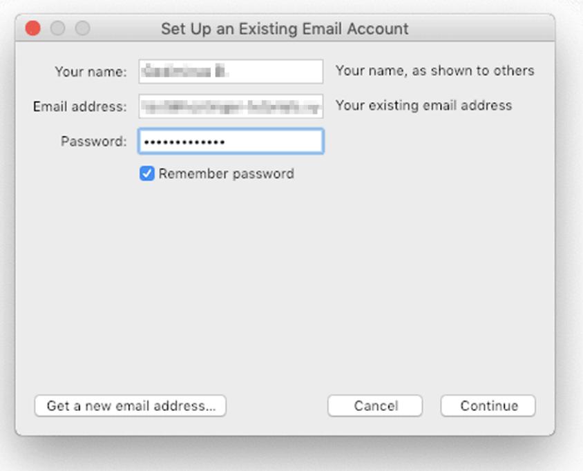 configurar servidor de email no thunderbird