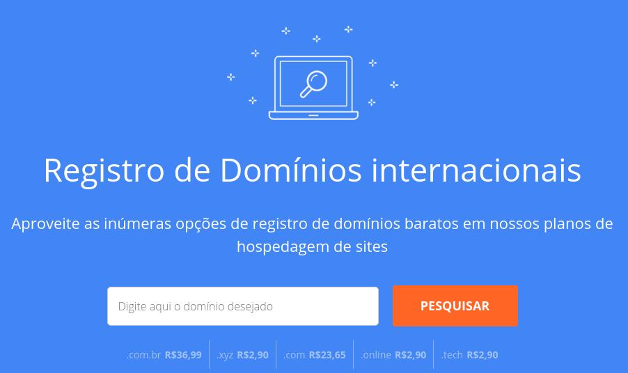ferramenta de pesquisa de domínio da weblink