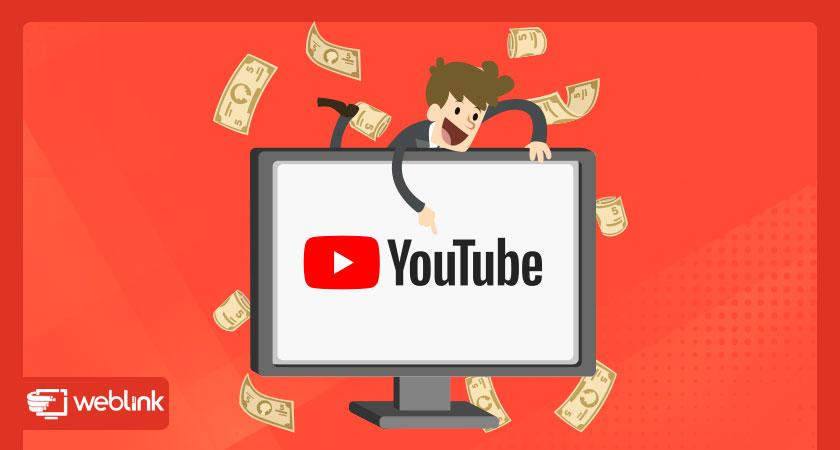 ganhe dinheiro na internet com o Youtube criando vídeos incríveis e conteúdos que engajam com usuários