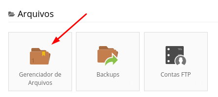 gerenciafdor de arquivos na weblink