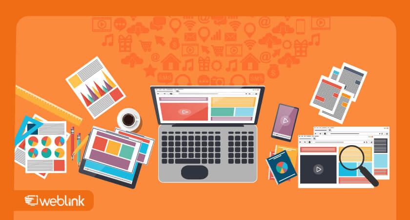 aprenda como criar um blog com a weblink