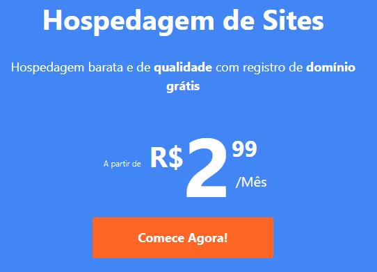 hospedagem de sites da weblink por R$ 2,99