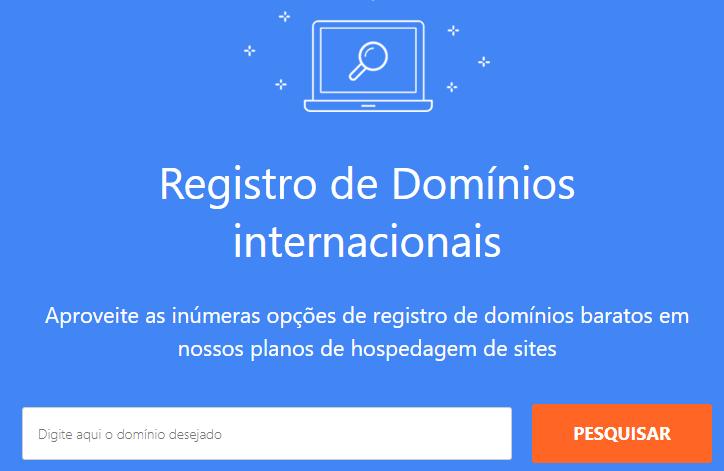 ferramenta para pesquisar domínio na Weblink