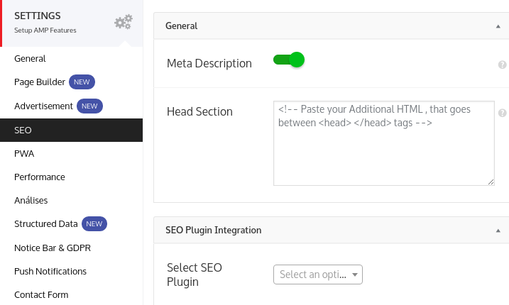 seo no plugin amp for wp