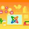 ilustração de exemplo com extensões joomla