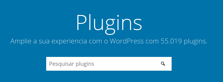 diretório de plugins para wordpress