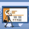 ilustração para conteúdo sobre como fazer um currículo online