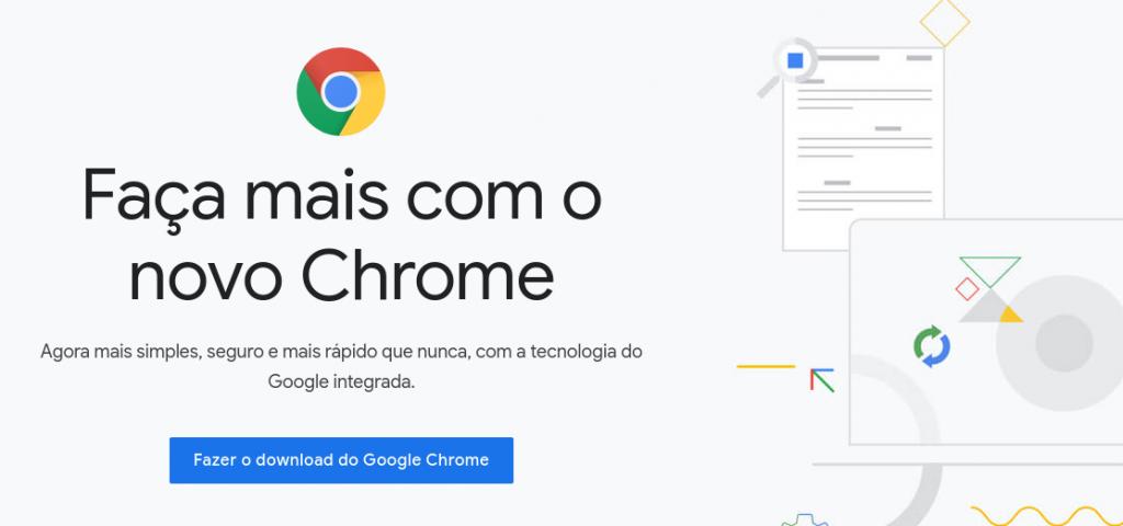 google chrome é um dos melhores navegadores de internet