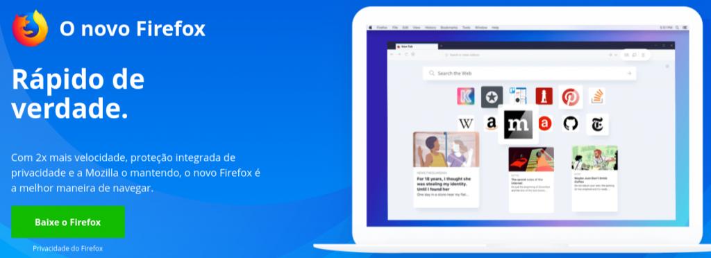 navegador de internet mozilla firefox