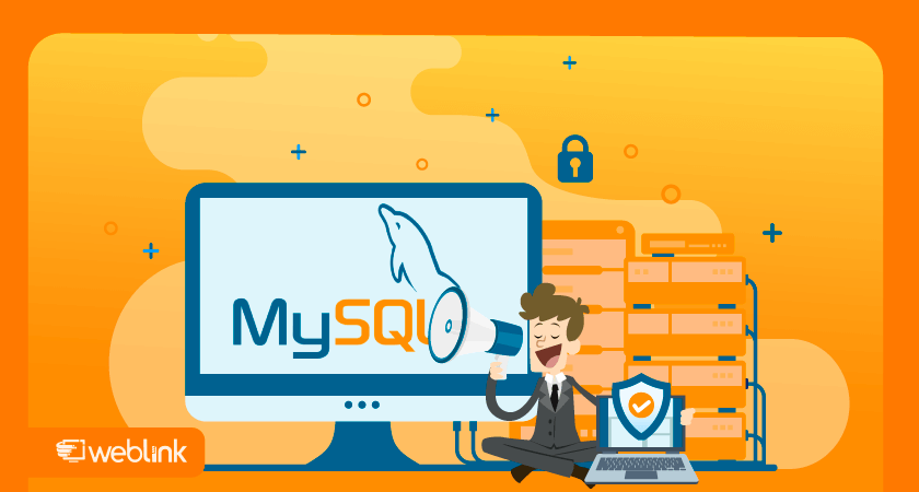 ilustração para conteúdo sobre o que é mysql