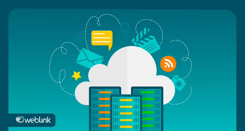 ilustração para conteúdo sobre hospedagem cloud