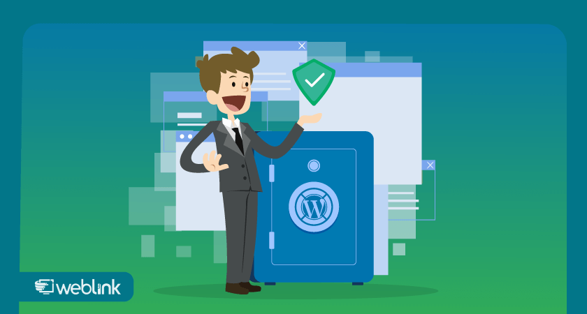 ilustração sobre a importância de fazer backup em um site