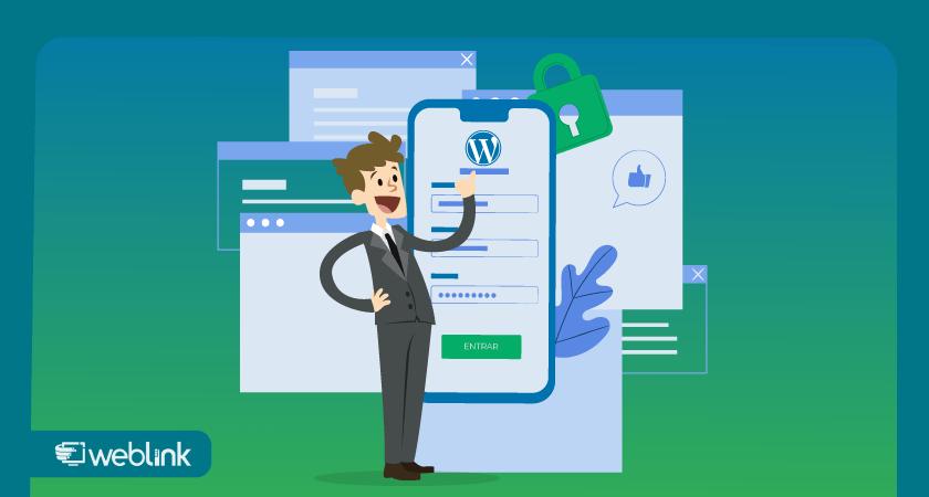 ilustração para conteúdo sobre segurança wordpress