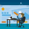 ilustração para conteúdo sobre como trabalhar com web designer freelancer