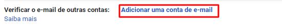 adicionar nova conta de email no Gmail